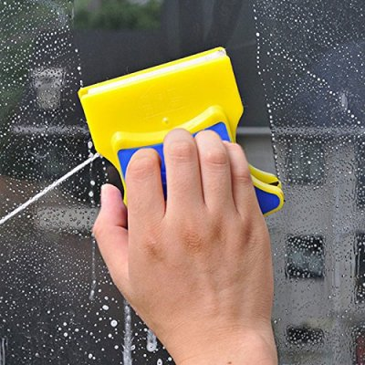 Double-sided window cleaner - Magnetic