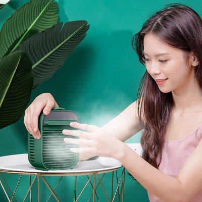 Smart Cube - fan with built-in humidifier