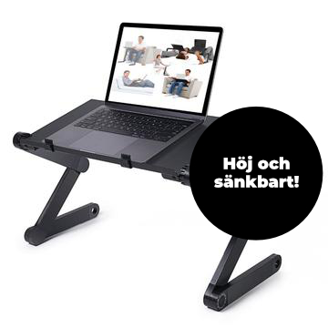 Ergonomic table for your laptop