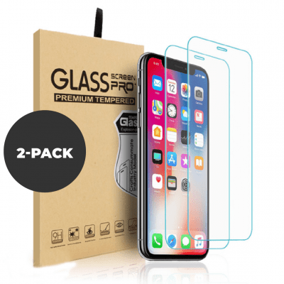 2 pack – Tempered glass for iPhone X/XS/11 Pro
