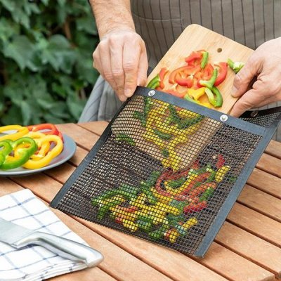 BBQ Grill Bag Non-Stick - Easy to clean