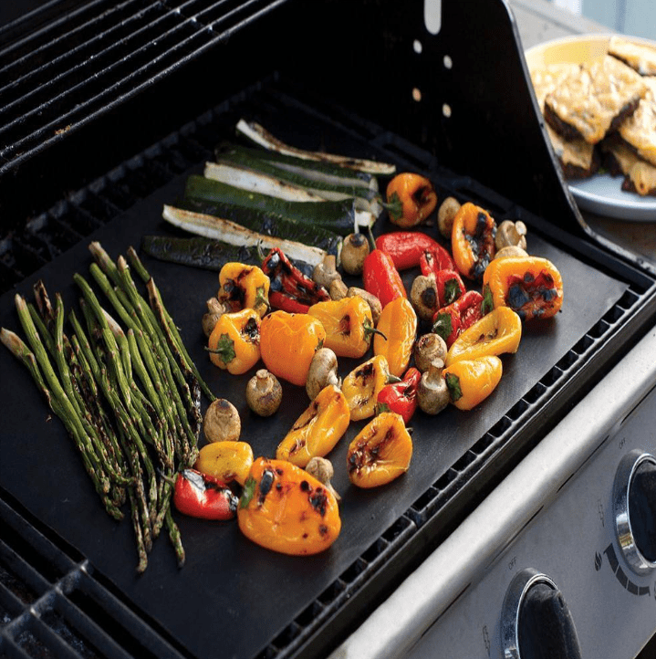 Oven and grill mat non stick coating