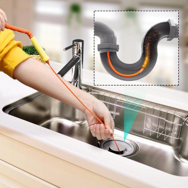 Drain cleaner for kitchen and bathroom
